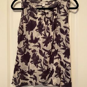 NY&C Floral Sleeveless Blouse